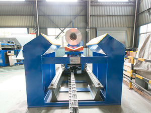 Single machine of coil cutting line